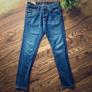 Abercrombie & Fitch Super Skinny Blue Jeans